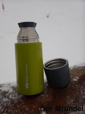 der gr ndel glacier stainless vacuum bottle von gsi outdoors 01 2018. Black Bedroom Furniture Sets. Home Design Ideas